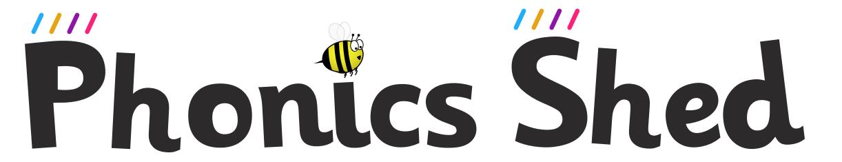 Phonics Shed logo