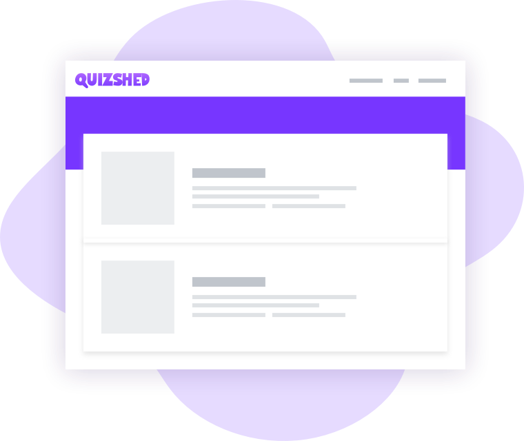 Create your own quizzes
